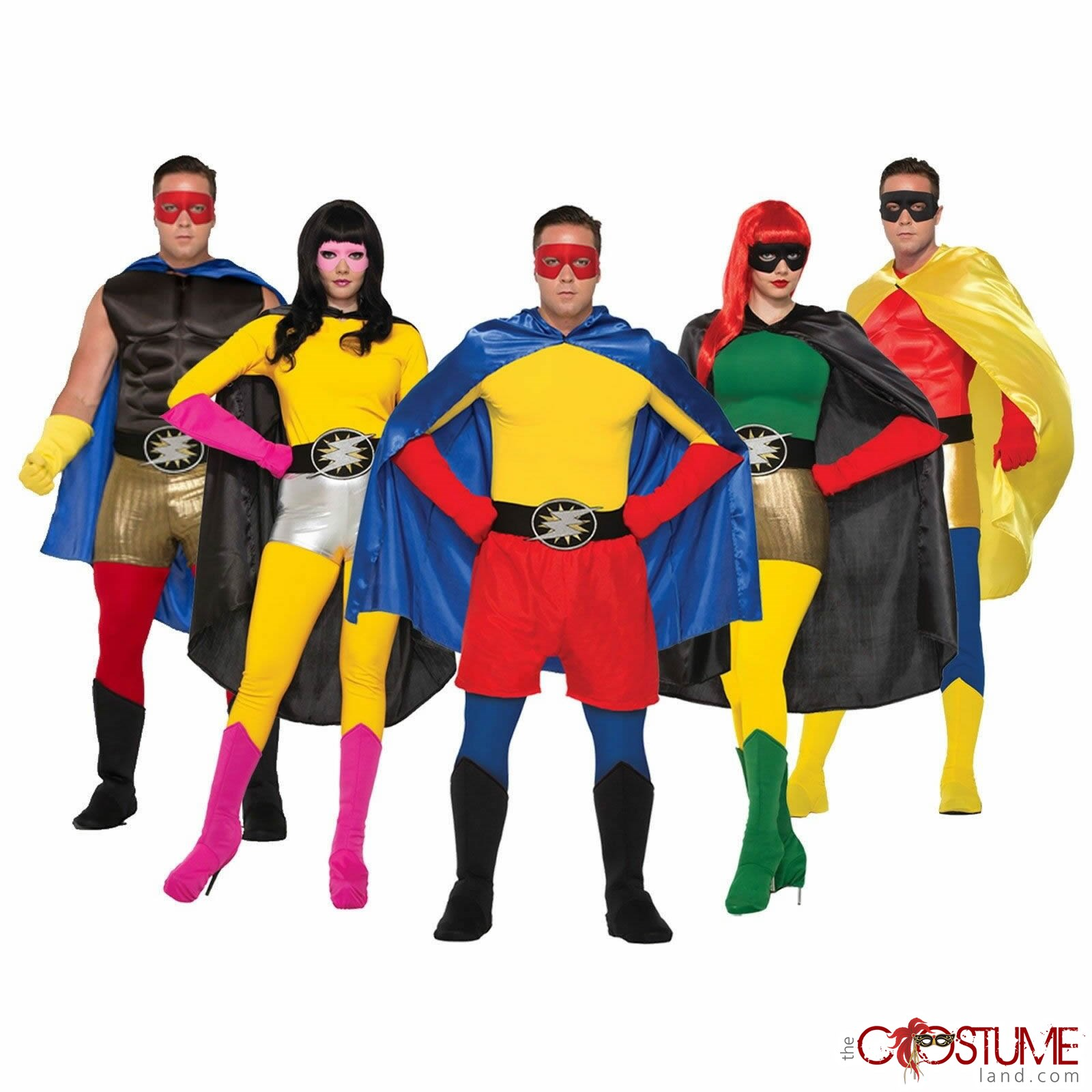 adult superhero costume tights pants unisex villain