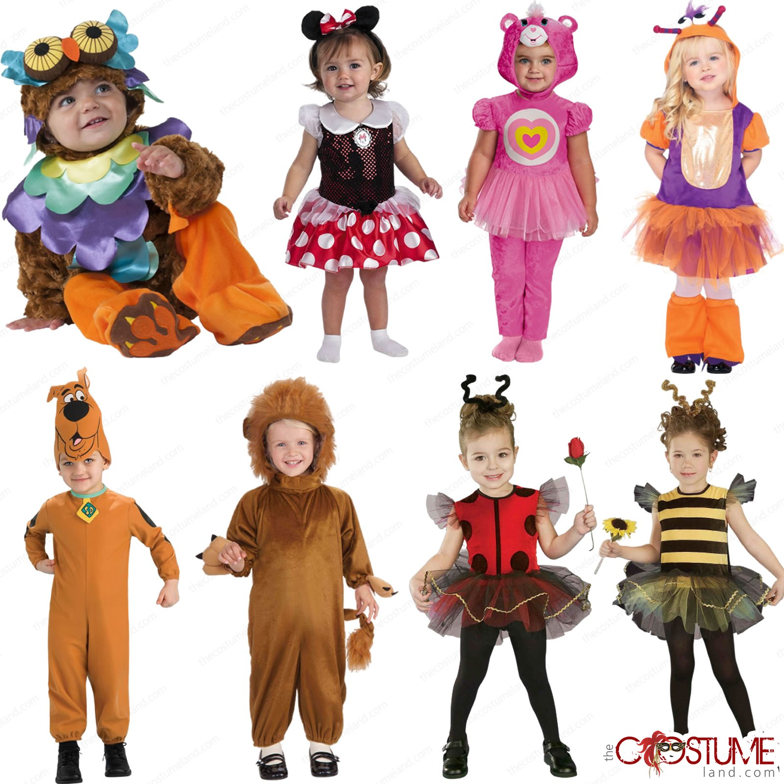 Animals Cute Baby Toddler Costumes Scooby Dress Minnie Mouse Fancy Party Outfit Ebay