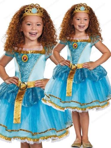 Merida Tiara Disney Princess Brave Fancy Dress Halloween Child Costume Accessory
