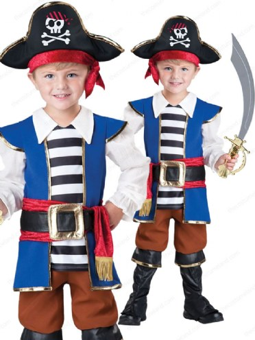 Child Ahoy Matey Costume for Halloween
